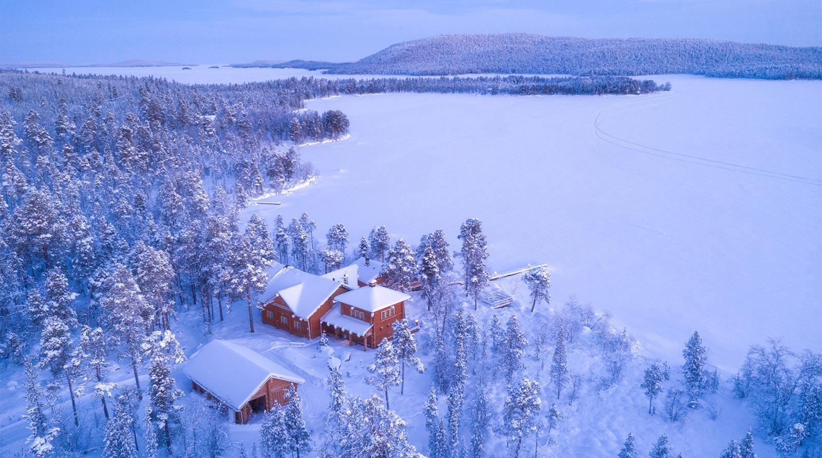 Private Accommodatio in Inari Lapland - Wildeness Villas